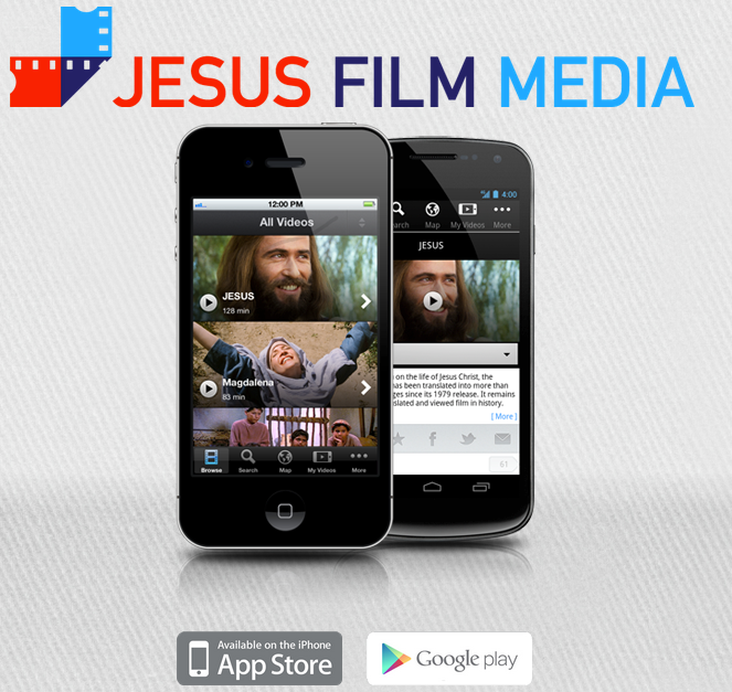 A great new mobile app with Jesus Film clips - great for sharing