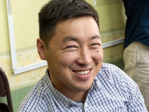 Joyful Mongolian staff member you helped train