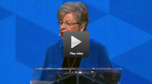 here is Ney Bailey's message we heard at the conference