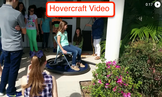 Video of their hovercraft!